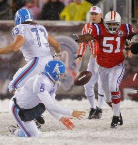 Titans Patriots Football